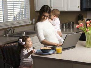 Работа на дому для мам