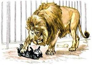 Лев Толстой. Рассказы для детей. Лев и собачка