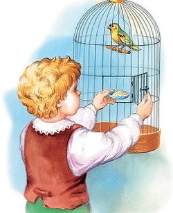 Лев Толстой. Рассказы для детей. Птичка