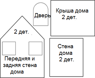 Как сделать домик из картона своими руками