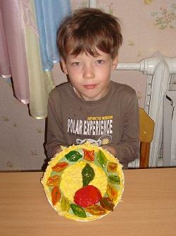 Детская поделка на конкурс