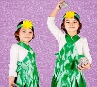 Детские новогодние костюмы. Костюм елочки