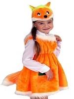 Детские новогодние костюмы. Костюм лисички
