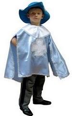 Детские новогодние костюмы. Костюм  мушкетера