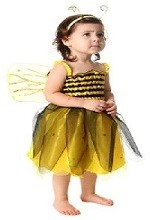 Детские новогодние костюмы. Костюм  пчелка