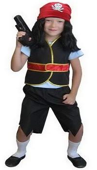 Новогодние костюмы для детей. Костюм пирата