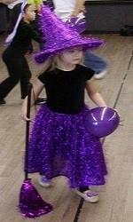 Детские новогодние костюмы. Костюм  ведьма